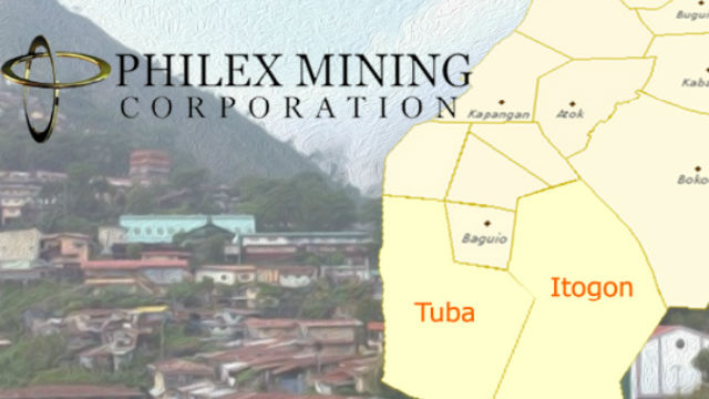 Philex pays P15M business taxes to 2 towns