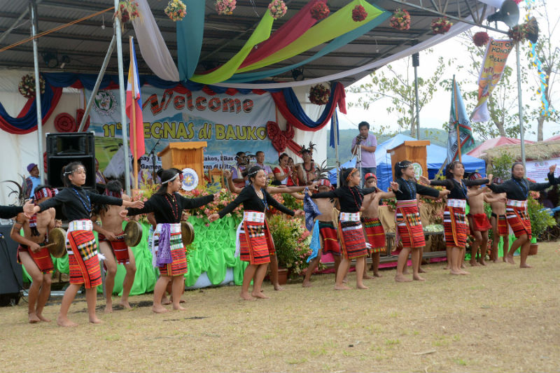 Barangay folks both young and old present cultural traditions during the 11th Begnas di Bauko in Bauko, Mountain Province last March 9-11, 2017. (March 14, 2017) REDJIE MELVIC CAWIS, PIA-CAR