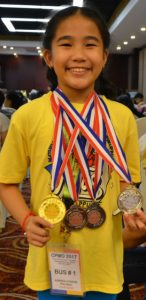 Bauang Math Wiz, a Multiple medal winner in China Olympiad