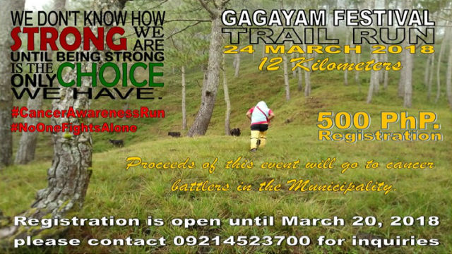 Gagayam Fest Trail Run Up