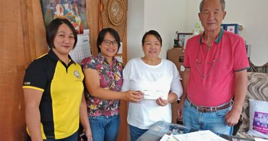 OFW returnee receives medical assistance from OWWA